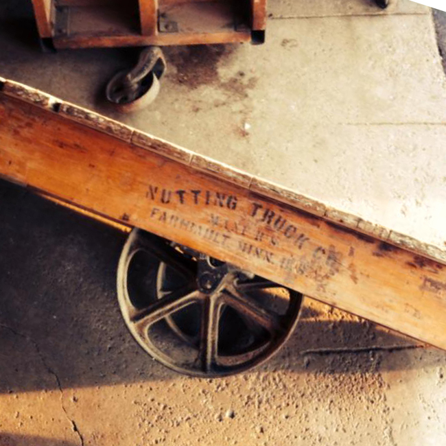 Old Nutting cart