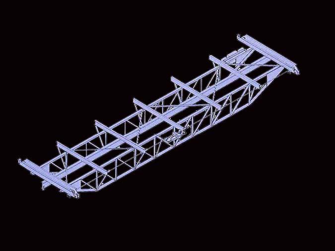 LOUDEN Model 510 Crane
