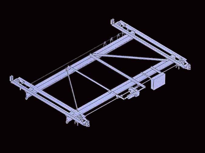 LOUDEN Model 517 Crane