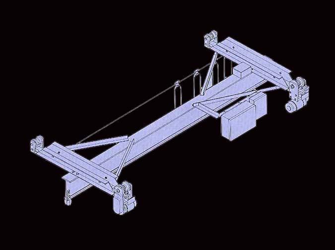 LOUDEN Model 585 Crane