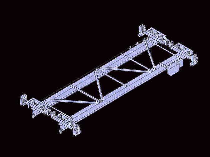 LOUDEN Model 586 Crane