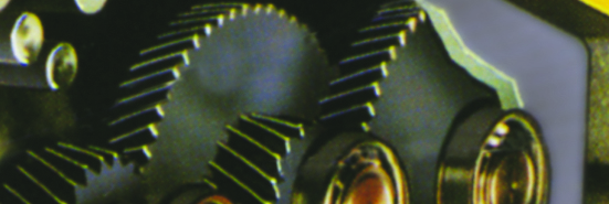 Gear Train Closeup