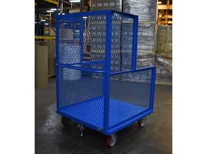 Order Picker Platform Cart 2