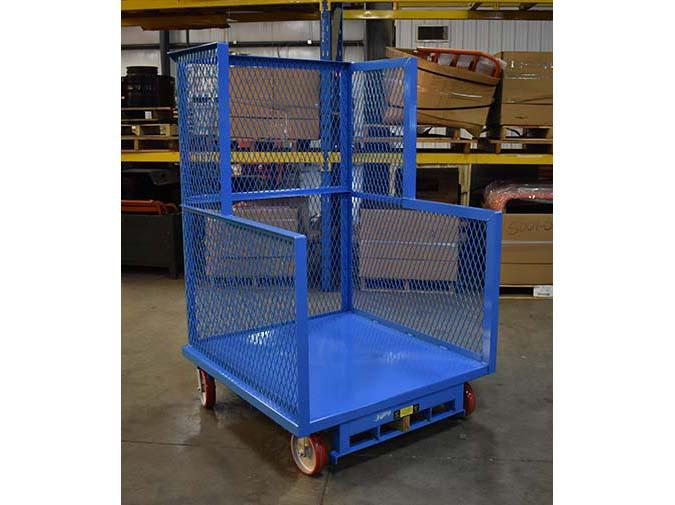 Order Picker Platform Cart 1