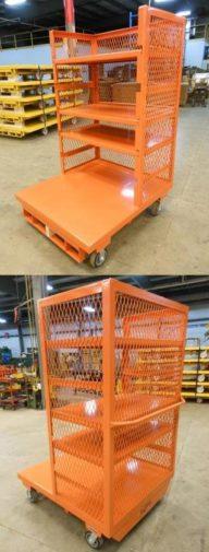 Order Picking Platform Cart 4