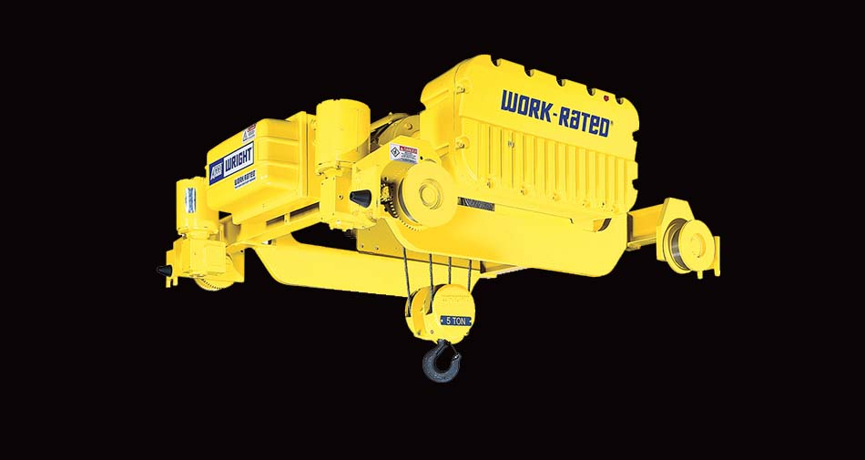 WRIGHT WORK-RATED Hoists (1-25 Tons)