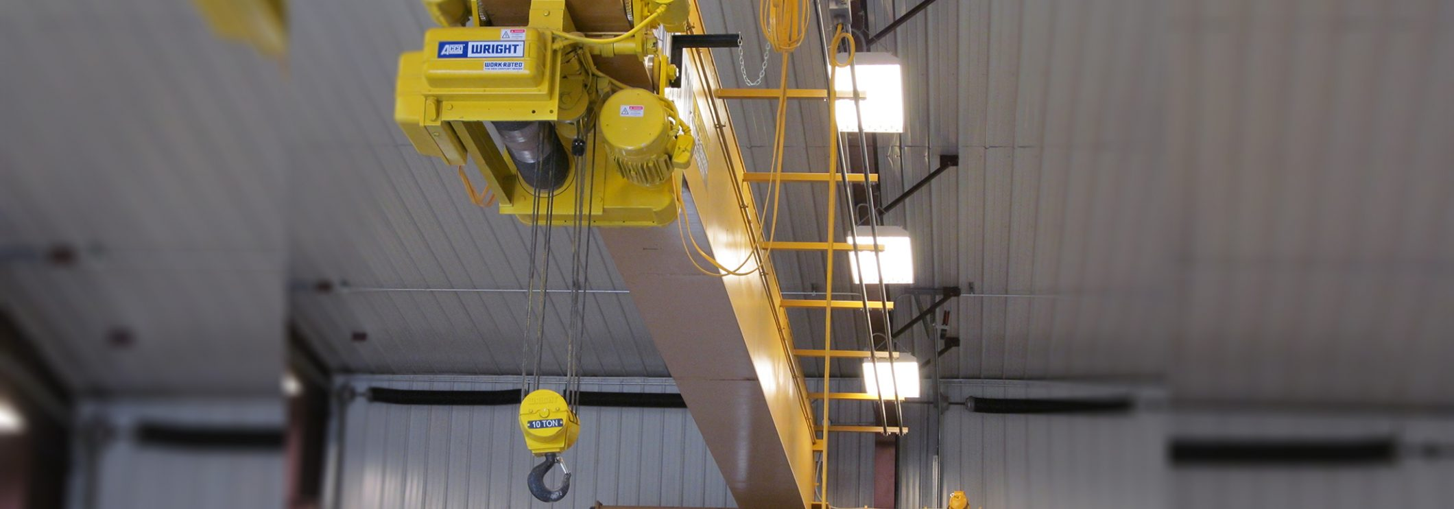 Hoists in Warehouse