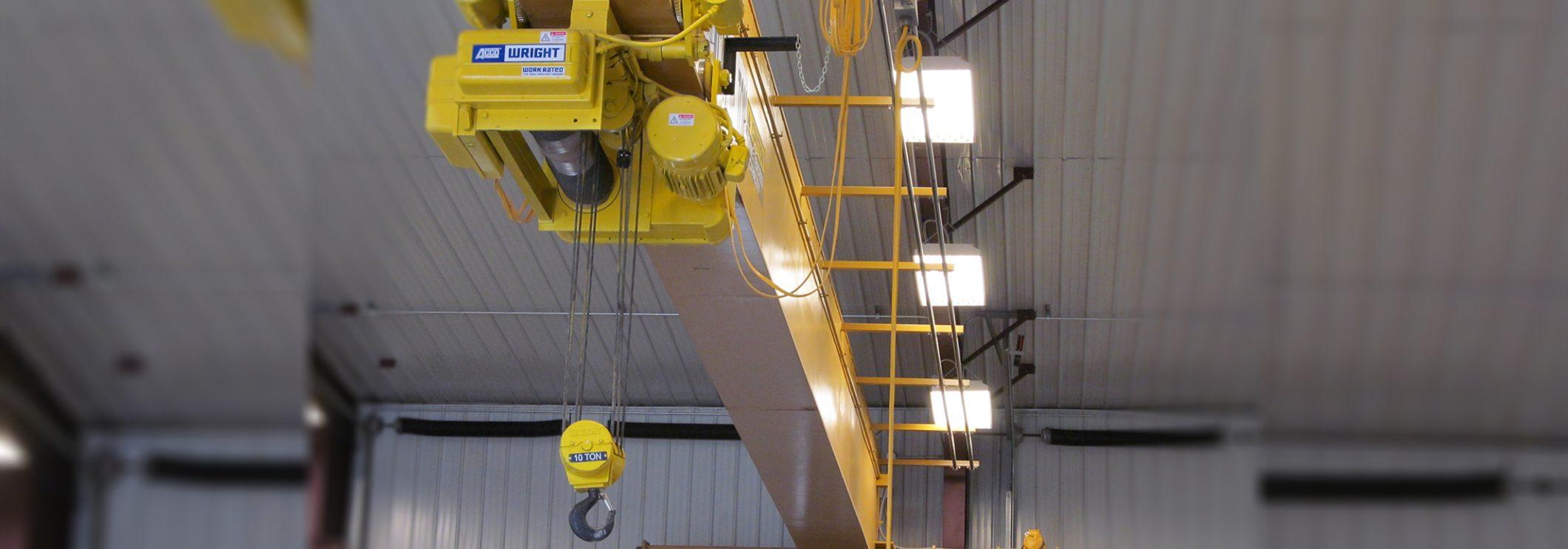 ACCO Hoists in Warehouse