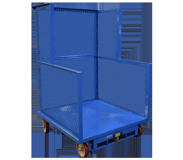 Nutting blue trailer