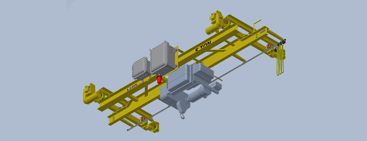 ACCO Explosion Proof Crane, Runway Extension